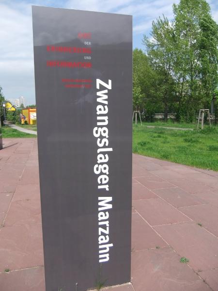 Sinti-Internierungslager in Marzahn