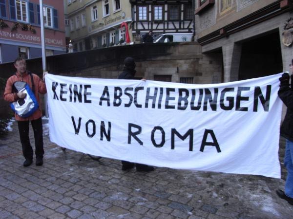 Kundgebung in Tübingen