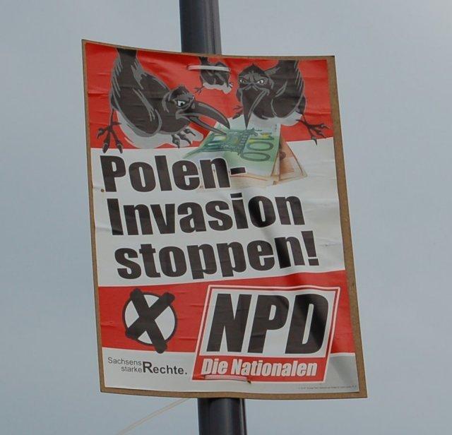 NPD-Sachsen übt sich in Antislawismus