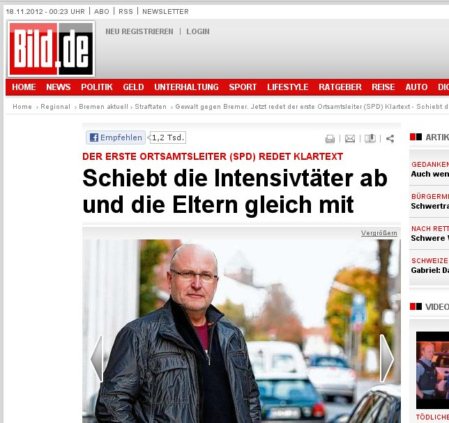 BILD hofiert SPD-Law&Order-Mann