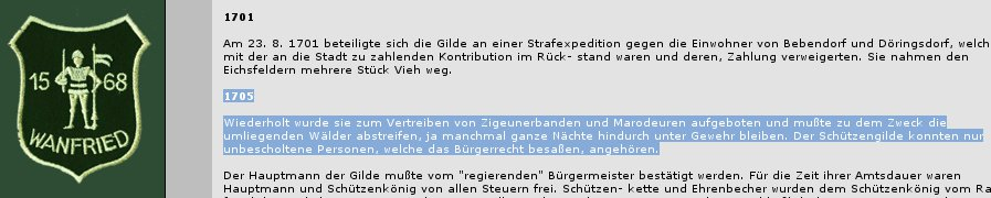 Schützenverein Varenfried vertrieb