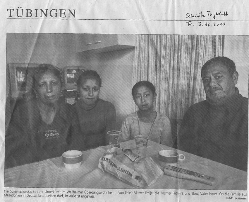 Tagblatt über Ilmie